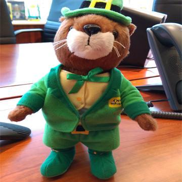 OtterBox OLLIE軟毛公仔玩具-綠精靈