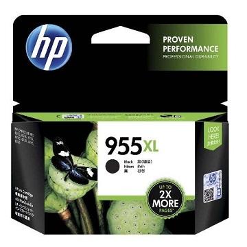 惠普HP 955XL 黑色墨水匣