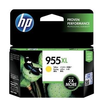 惠普HP 955XL 黃色墨水匣