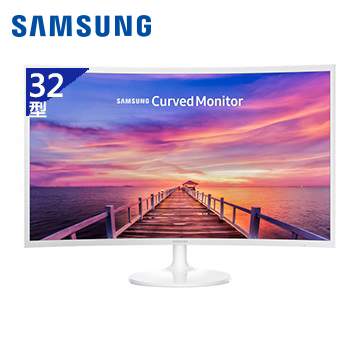 【32型】SAMSUNG Curved C32F391FWE液晶顯示器