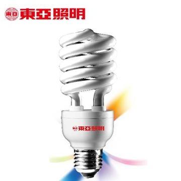 東亞24W電子式螺旋省電燈泡-燈泡色