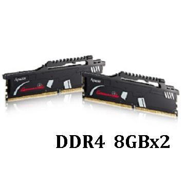 【16G】Apacer 突擊隊DDR4-2800(8G*2) C-DDR4-2800-16GB