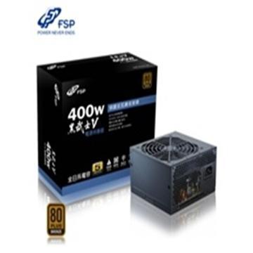 全漢 黑武士V 400W 銅牌電源供應器