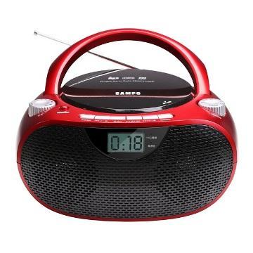 【展示機】SAMPO MP3手提CD音響