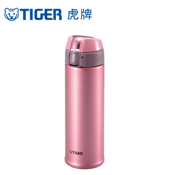 【福利品】虎牌彈蓋式保溫杯500CC-粉紅