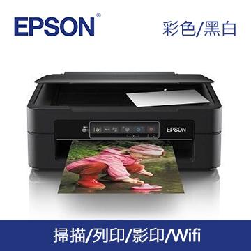 (福利品) 愛普生EPSON XP-245 四合一Wifi雲端超值複合機