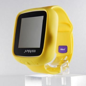 【官方翻新品】JUMPY Plus兒童智慧手錶-黃 PKG-02-Y