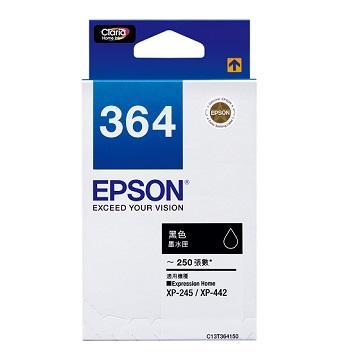 EPSON 364 黑色墨水匣 C13T364150
