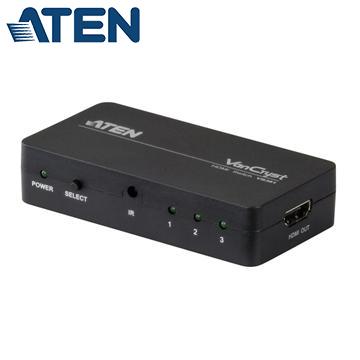 ATEN 3埠HDMI影音切換器