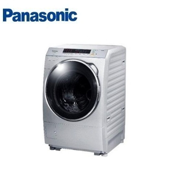 Panasonic 14公斤ECONAVI洗脫滾筒洗衣機 NA-V158DW-L炫亮銀)