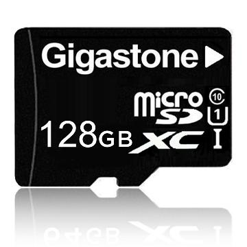 【128G / U1】Gigastone MicroSD記憶卡(附轉卡)