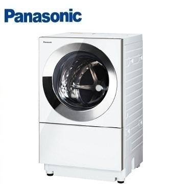 【福利品】Panasonic 10.5公斤Cuble滾筒變頻洗衣機 NA-D106X1WTW(晶燦白)
