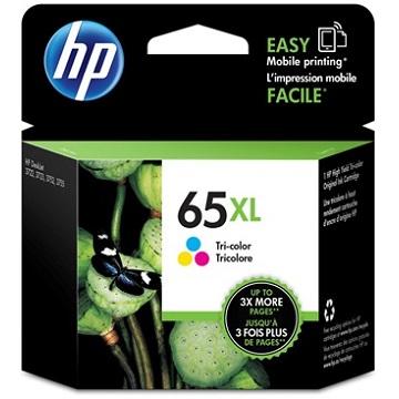 HP 65XL 彩色原廠墨水匣 N9K03AA