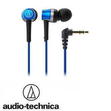audio- technica 鐵三角ATH- CKR30耳塞式耳機-藍