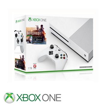「同捆組」【1TB】XBOX ONE S 戰地風雲1 Battlefield 1 主機