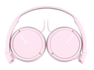 SONY MDR-ZX110AP立體聲耳罩式耳機-粉