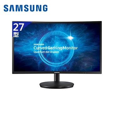 【拆封品】【27型】SAMSUNG C27FG70FQE電競曲面液晶顯示器