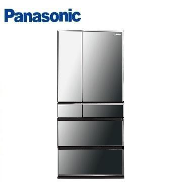【福利品 】Panasonic 665公升尊爵ECONAVI六門變頻冰箱 NR-F672WX-X1(鑽石黑)