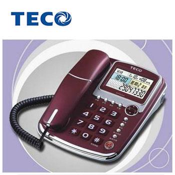 TECO 來電顯示報號有線電話