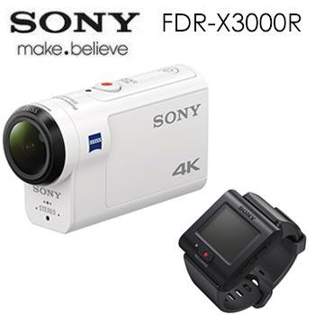 【展示機】SONY Action cam FDR-X3000R 運動攝影機