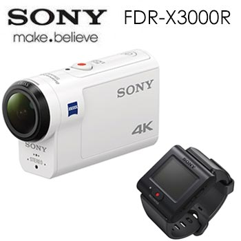 【展示機】SONY Action cam FDR-X3000R 運動攝影機