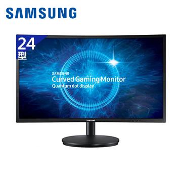 【福利品】SAMSUNG 24型電競曲面液晶顯示器