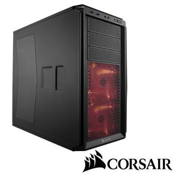 CORSAIR 3大4小 230T 電腦機殼-寂靜黑