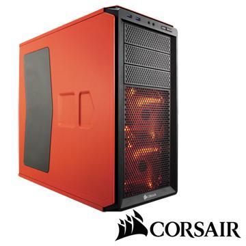 CORSAIR 3大4小 230T 電腦機殼-夕陽橘 CC230T-O/WD