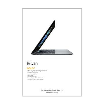 "【15""】Riivan New MacBook Pro疏油疏水保護貼-BWHC"