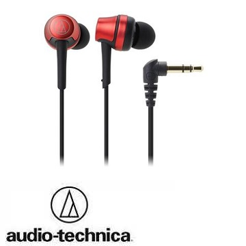 audio- technica 鐵三角ATH- CKR50耳塞式耳機-紅