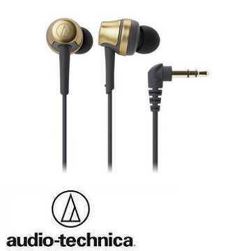 audio- technica 鐵三角ATH- CKR50耳塞式耳機-金 ATH-CKR50 GD