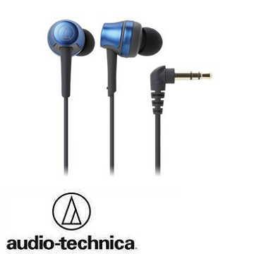 audio- technica鐵三角ATH- CKR50耳塞式耳機-藍