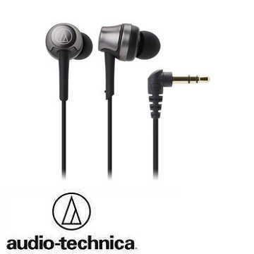 audio- technica 鐵三角ATH- CKR50耳塞式耳機-黑