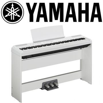 YAMAHA 標準88鍵數位鋼琴-白色
