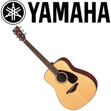 山葉YAMAHA 41吋民謠吉他 原木亮面
