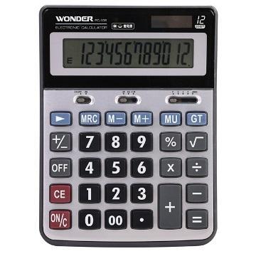 WONDER 12位元稅率多功能計算機