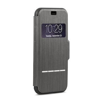 【iPhone 8 / 7】moshi SenseCover 感應式保護套-黑