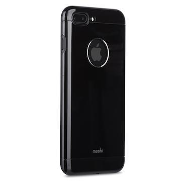 【iPhone 8+/7+】moshi Armour  鋁製保護殼-曜石黑