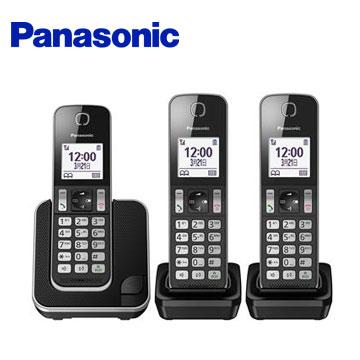 Panasonic中文顯示三機數位無線電話