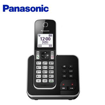 Panasonic中文顯示數位答錄無線電話 KX-TGD320TWB