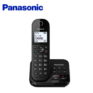 Panasonic中文輸入數位答錄無線電話