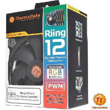 Tt曜越 Riing 12RGB水冷排風扇