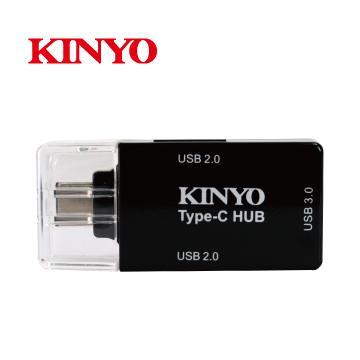 KINYO Type-C HUB集線器 HUB-20