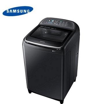 【福利品 】SAMSUNG 13公斤雙效手洗變頻洗衣機-奢華黑