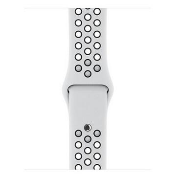 展-38mm Pure Platinum配白Nike運動錶帶 3C904FE/A