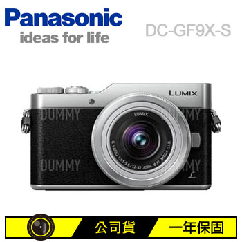 Panasonic GF9X可交換式鏡頭相機(灰色)