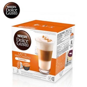 【福利品】雀巢咖啡膠囊-焦糖瑪奇朵 焦糖瑪奇朵咖啡膠囊