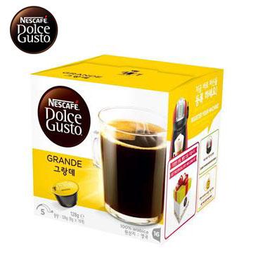 【福利品】雀巢咖啡膠囊-美式醇郁濃滑 美式醇郁濃滑咖啡