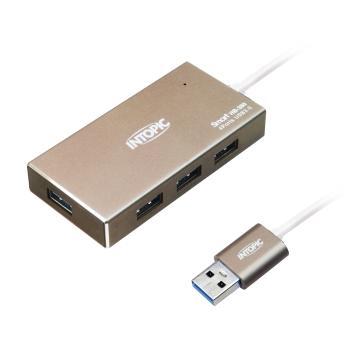 INTOPIC USB3.0鋁合金高速集線器 HB-380