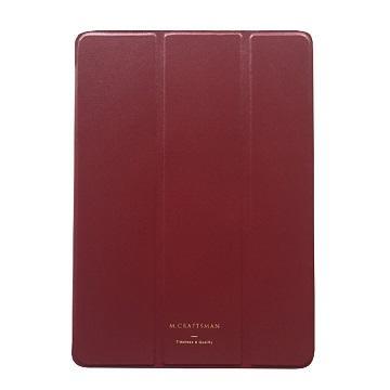 """【9.7""""】M.CRAFTSMAN iPad極輕薄保護套-紅"""